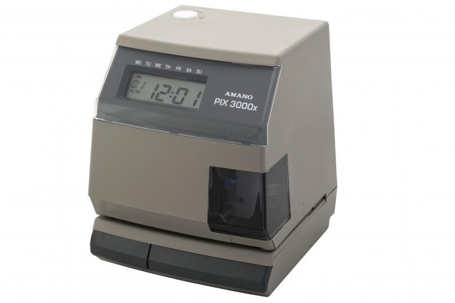 Pix 3000 Midwest Time Recorder